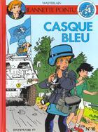 Couverture du livre « CASQUE BLEU » de Marc Wasterlain aux éditions Dupuis