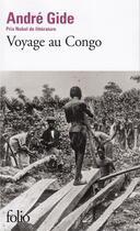Couverture du livre « Voyage au Congo » de Andre Gide aux éditions Gallimard