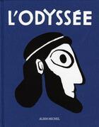 Couverture du livre « L'odyssée » de Homere aux éditions Albin Michel
