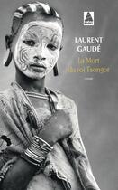Couverture du livre « La mort du roi Tsongor » de Laurent Gaudé aux éditions Actes Sud