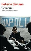 Couverture du livre « Gomorra » de Roberto Saviano aux éditions Gallimard