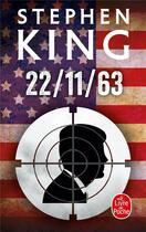 Couverture du livre « 22/11/63 » de Stephen King aux éditions Lgf