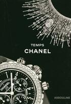 Couverture du livre « Temps Chanel » de Gregory Pons aux éditions Assouline