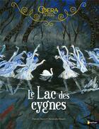 Couverture du livre « Grand album du ballet ; le lac des cygnes » de Alexandra Huard et Pascale Maret aux éditions Nathan