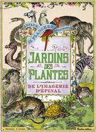 Couverture du livre « Les jardins des plantes de l'imagerie d'Epinal » de Nathalie Cousin aux éditions Rustica