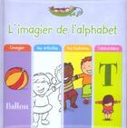 Couverture du livre « L'Imagier De L'Alphabet » de S. Coutausse aux éditions Scarabea