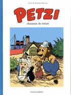 Couverture du livre « Petzi T.3 ; Petzi chasseur de trésor » de Carla Hansen et Vilhelm Hansen aux éditions Place Du Sablon