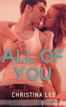 Couverture du livre « All of you » de Christina Lee aux éditions Black Moon