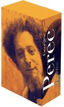 Couverture du livre « Oeuvres t.1 et t.2 » de Georges Perec aux éditions Gallimard