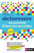 Couverture du livre « Dictionnaire D'Economie Et De Sciences Sociales - Ne » de Collectif aux éditions Nathan