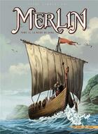 Couverture du livre « Merlin T.12 ; la reine de sang » de Nicolas Jarry et Eric Lambert et Christian Paty aux éditions Soleil