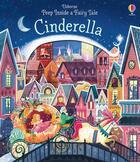 Couverture du livre « Cinderella ; peep inside a fairy tale » de Anna Milbourne et Karl James Mountford aux éditions Usborne