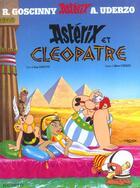 Couverture du livre « Astérix T.6 ; Astérix et Cléopâtre » de Rene Goscinny et Albert Uderzo aux éditions Hachette