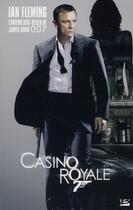 Couverture du livre « Casino royale » de Ian Fleming aux éditions Bragelonne