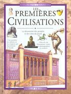 Couverture du livre « Les premieres civilisations » de Peter Brooks aux éditions Gamma Editions