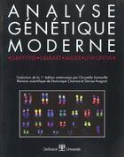 Couverture du livre « Analyse Genetique Moderne » de Griffiths aux éditions De Boeck