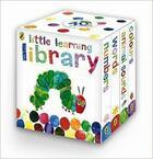 Couverture du livre « The very hungry caterpillar - little learning library » de Eric Carle aux éditions Penguin Uk