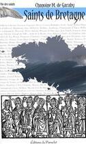 Couverture du livre « Saints de Bretagne » de M. De Garaby aux éditions Du Paraclet