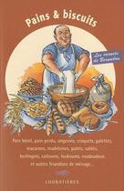 Couverture du livre « Pains et biscuits » de Jacques Bernadou aux éditions Loubatieres