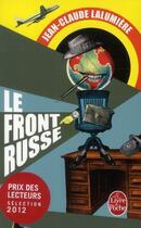 Couverture du livre « Le front russe » de Jean-Claude Lalumiere aux éditions Lgf