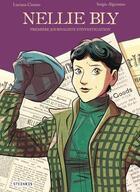 Couverture du livre « Nellie Bly » de Sergio Algozzino et Luciana Cimino aux éditions Steinkis