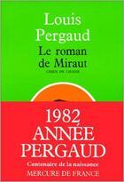 Couverture du livre « Le roman de miraut, chien de chasse » de Louis Pergaud aux éditions Mercure De France
