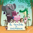 Couverture du livre « La rentrée des animaux » de Herve Le Goff et Noe Carlain aux éditions Elan Vert