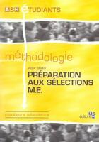 Couverture du livre « Preparation Aux Selections Me » de Victor Sibler aux éditions Ash