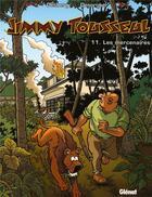 Couverture du livre « Jimmy Tousseul t.11 ; les mercenaires » de Benoit Despas et Daniel Desorgher et Stephen Desberg aux éditions Glenat