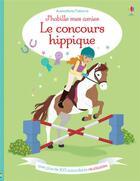 Couverture du livre « J'Habille Mes Amies - Le Concours Hippique » de Lucy Bowman aux éditions Usborne
