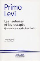 Couverture du livre « Les naufrages et les rescapes » de Primo Levi aux éditions Gallimard