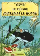Couverture du livre « Les aventures de Tintin T.12 ; le trésor de Rackham le rouge » de Herge aux éditions Casterman