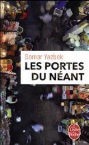 Couverture du livre « Les portes du néant » de Samar Yazbek aux éditions Lgf