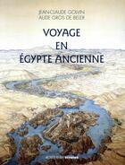 Couverture du livre « Voyage en Egypte ancienne » de Aude Gros De Beler aux éditions Errance