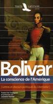 Couverture du livre « Bolivar, la conscience de l'Amérique » de Tranier aux éditions Toute Latitude