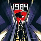 Couverture du livre « 1984 » de George Orwell et Xavier Coste aux éditions Sarbacane