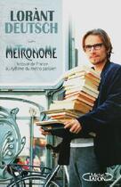 Couverture du livre « Métronome ; l'histoire de France au rythme du métro parisien » de Lorant Deutsch aux éditions Michel Lafon