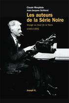Couverture du livre « Temps noir » de Schleret/Mesplede aux éditions Joseph K