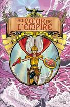 Couverture du livre « Au coeur de l'empire t.3 ; l'héritage de Luther Arkwright » de Bryan Talbot aux éditions Kymera