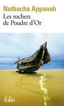 Couverture du livre « Les rochers de poudre d'or » de Nathacha Appanah aux éditions Gallimard