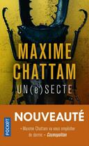 Couverture du livre « Un(e) secte » de Maxime Chattam aux éditions Pocket