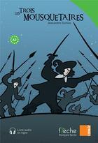 Couverture du livre « Les trois mousquetaires » de Alexandre Dumas et Menina Azza aux éditions Samir