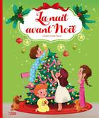 Couverture du livre « La nuit avant Noël » de Emmanuelle Colin et Clement Clarke Moore aux éditions Lito