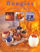 Couverture du livre « Bougies Creatives » de Brigitte Casagranda aux éditions Le Temps Apprivoise