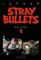 Couverture du livre « Stray bullets T.1 » de David Lapham aux éditions Delcourt