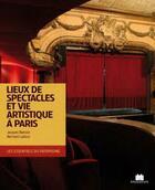 Couverture du livre « Lieux de spectacles et vies artistiques » de Jacques Barozzi et Bernard Ladoux aux éditions Massin