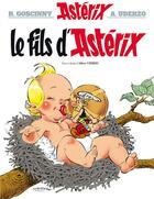 Couverture du livre « Astérix T.27 ; le fils d'Astérix » de Rene Goscinny et Albert Uderzo aux éditions Albert Rene