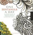 Couverture du livre « One zentangle a day /anglais » de Krahula aux éditions Quarry
