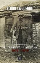 Couverture du livre « Les carnets d'un poilu de la grande guerre ; 1914-1919 » de Joseph Le Segretain aux éditions Lbm