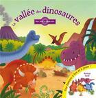Couverture du livre « La vallee des dinosaures une histoire a lire et a jouer !... » de Ben Mantle aux éditions Grenouille